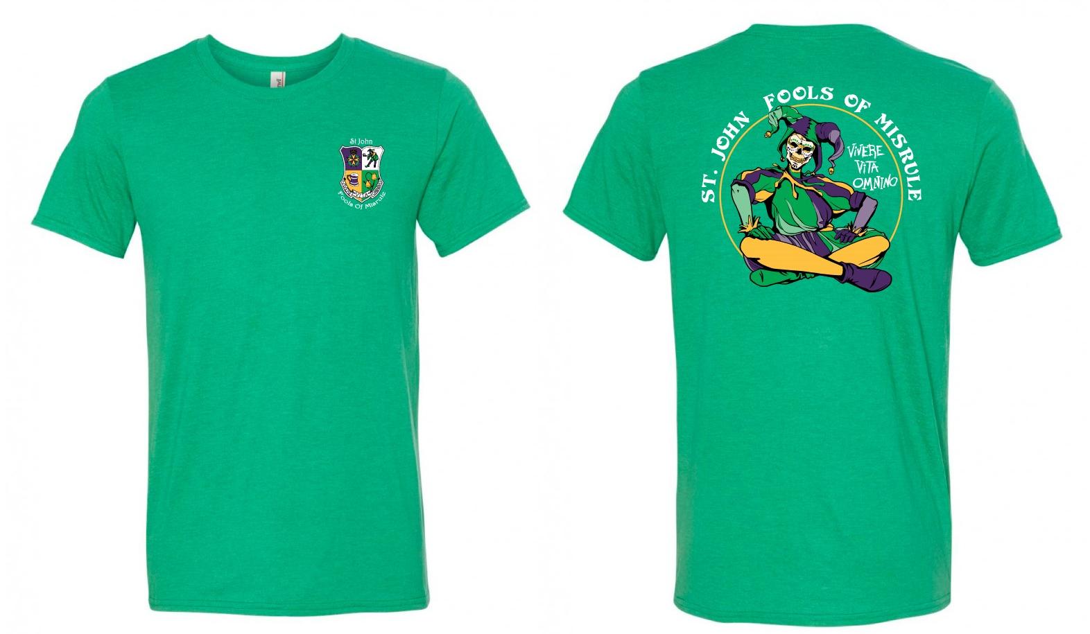 Jester T-Shirt Green